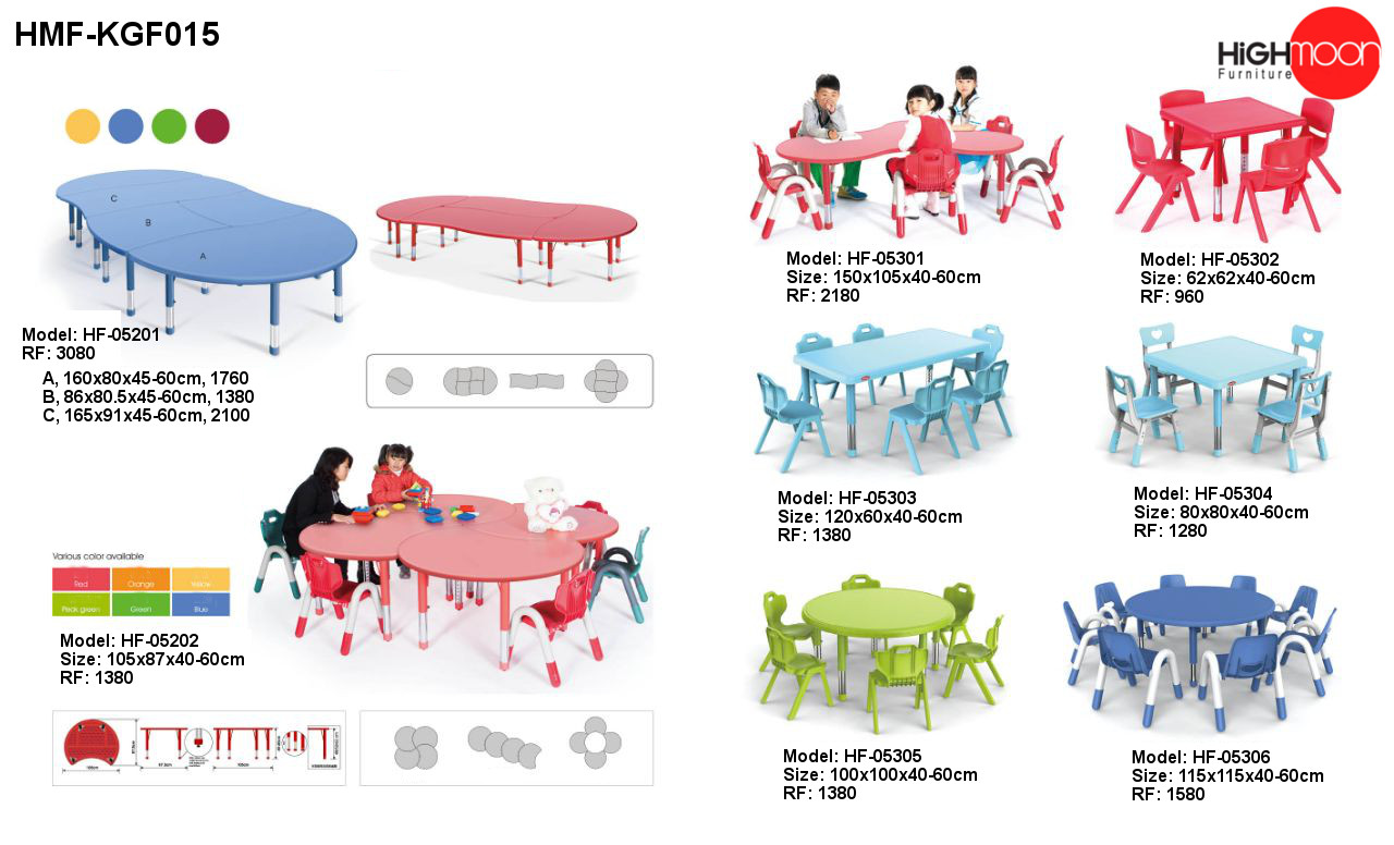 Nursery School Furniture Dubai