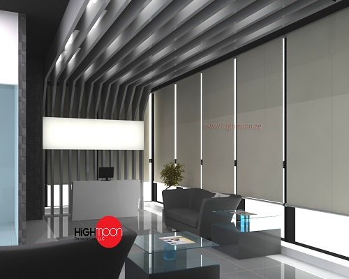 Office fit out works in dubai uae highmoon interiors for Home interior decoration company