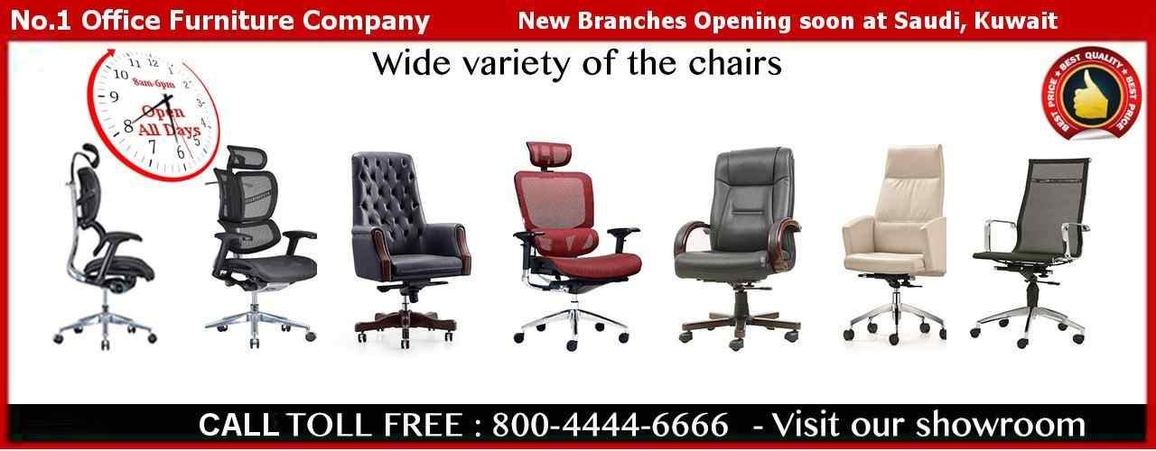 Task and Executive Chairs