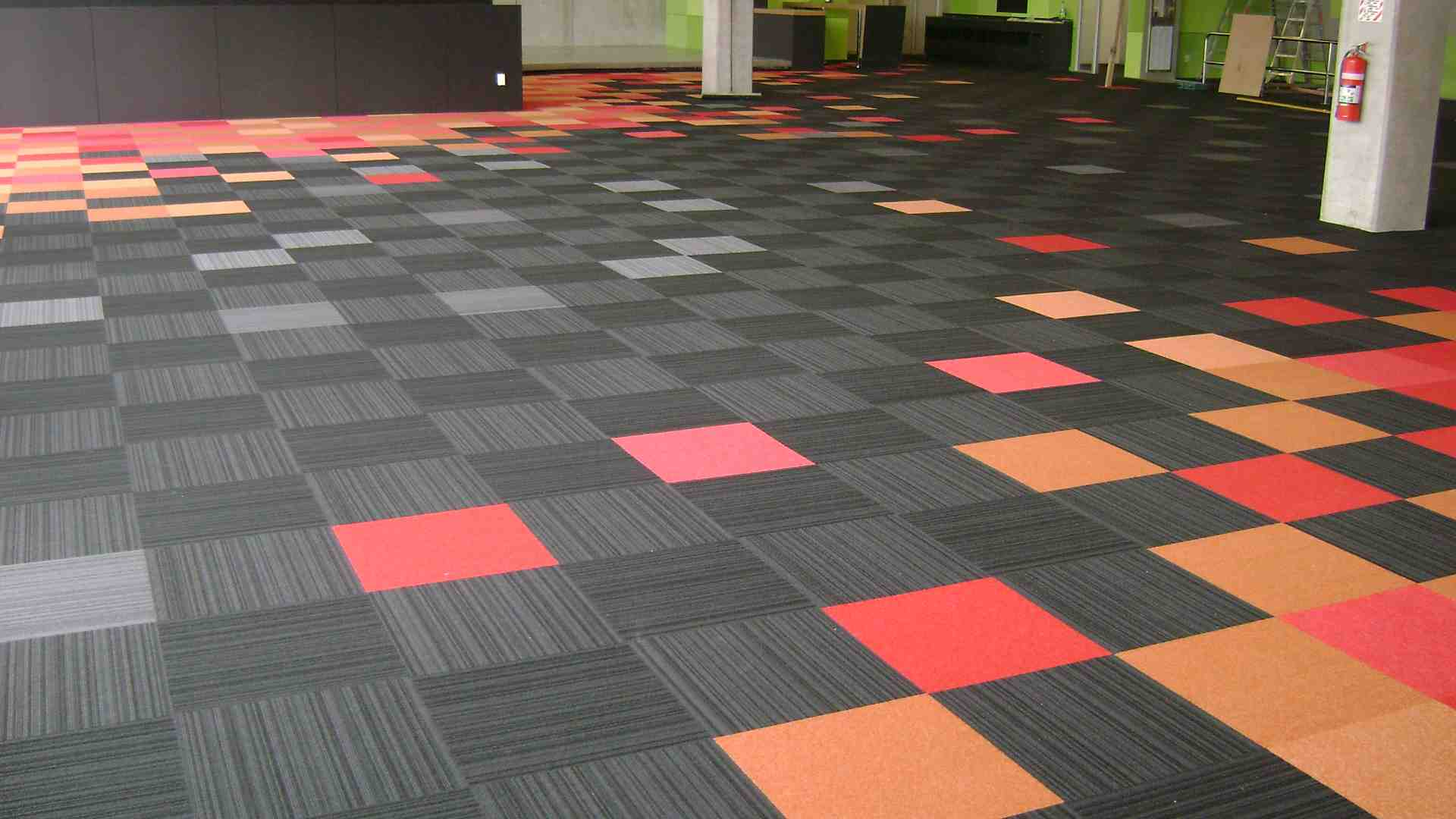 Polypropylene Carpet Tiles flooring dubai