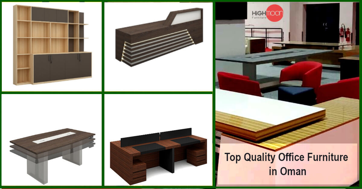 Top Quality Office Furniture in Oman