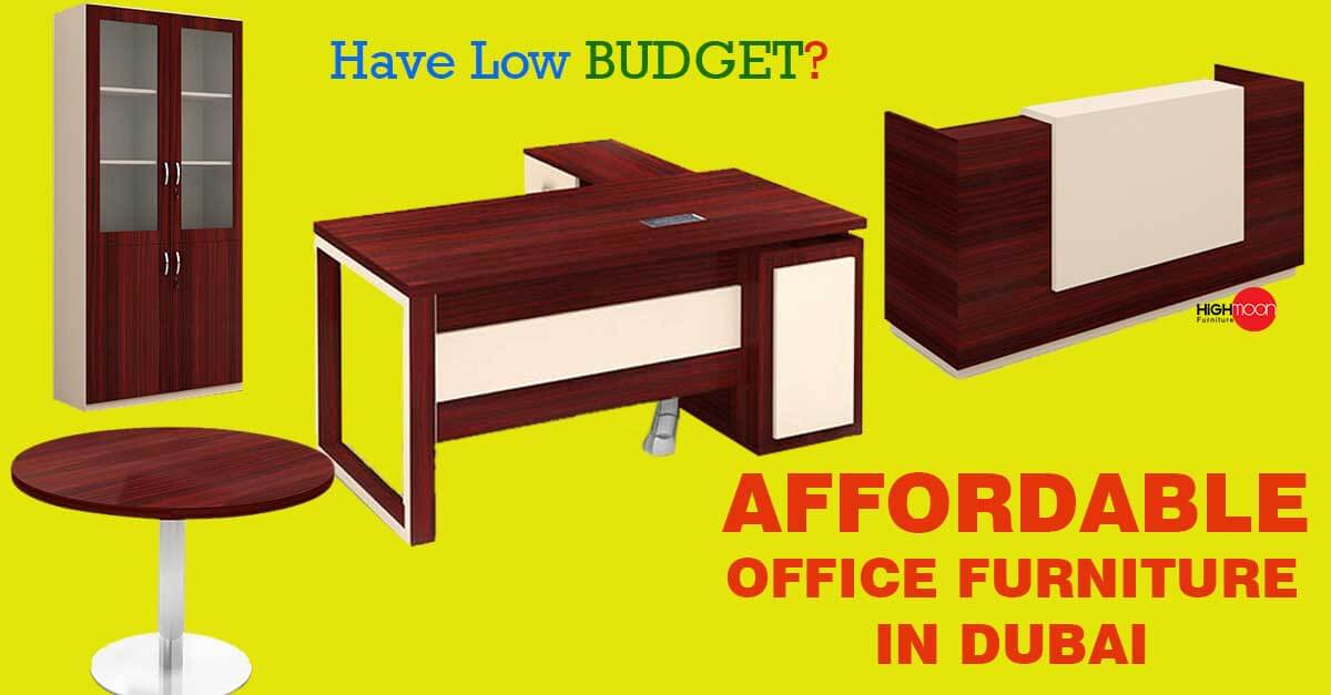 affordable office furniture in dubai