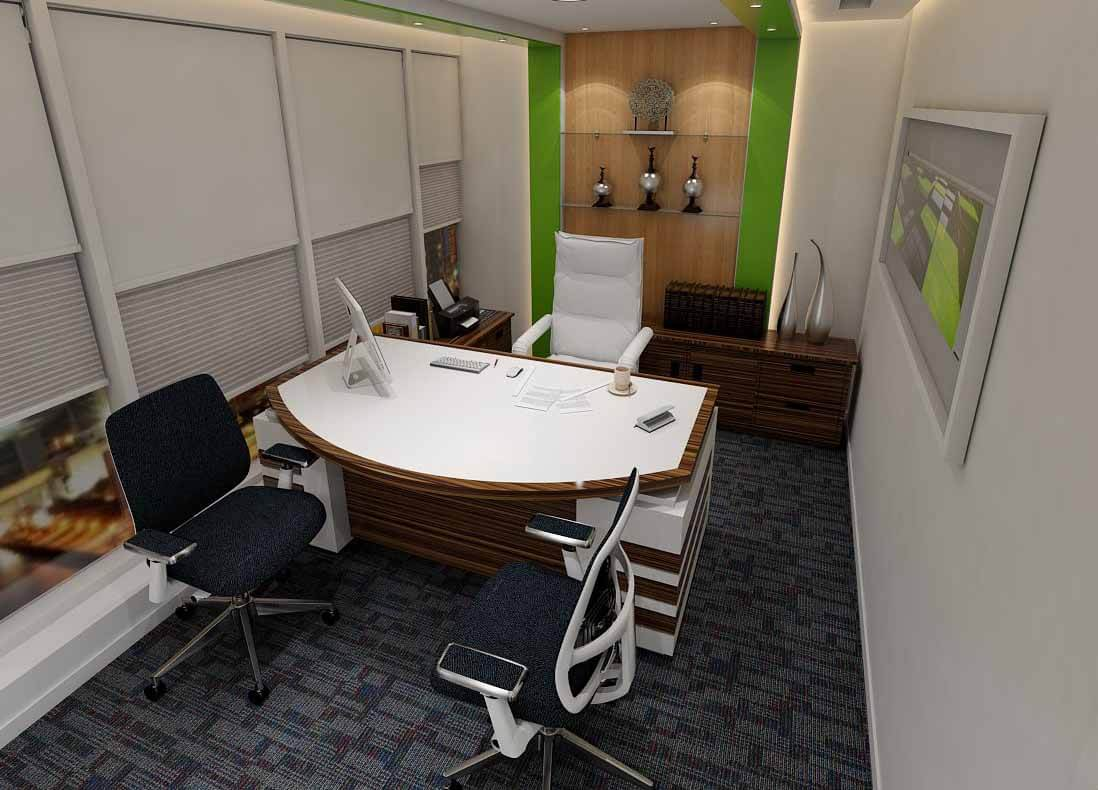 bespoke office room
