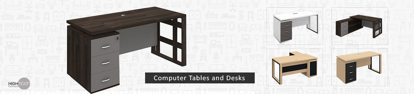 computer tables and desk