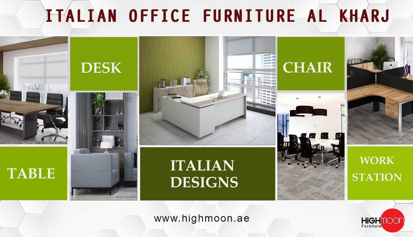 italian office furniture al kharj