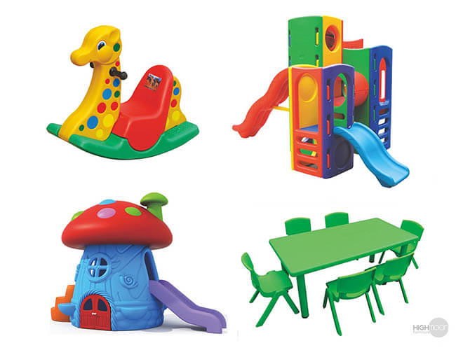 Kindetgarten Furniture and Toys