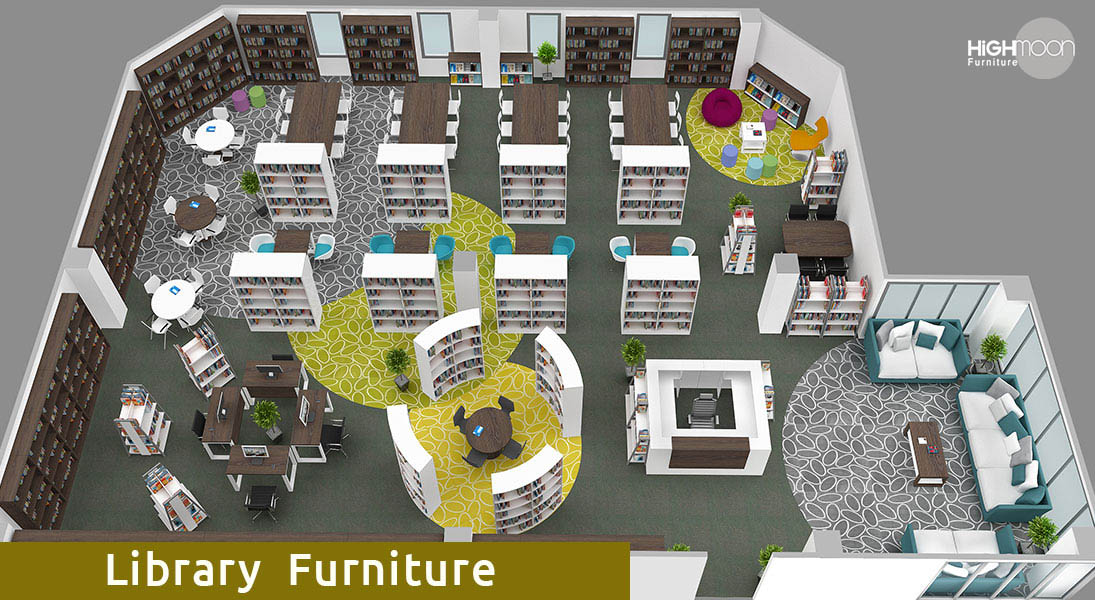 college library furniture