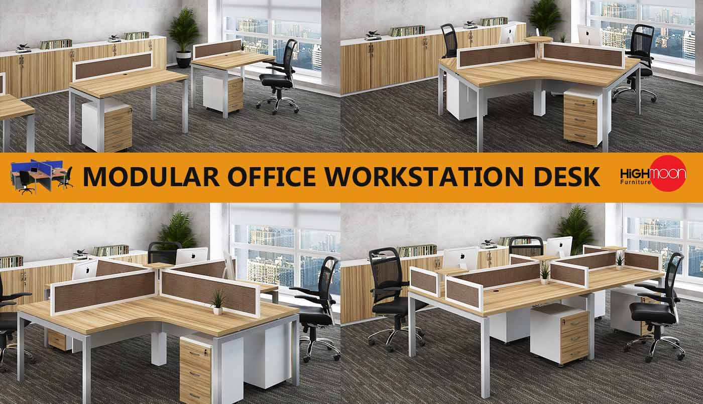 office workstation desk design