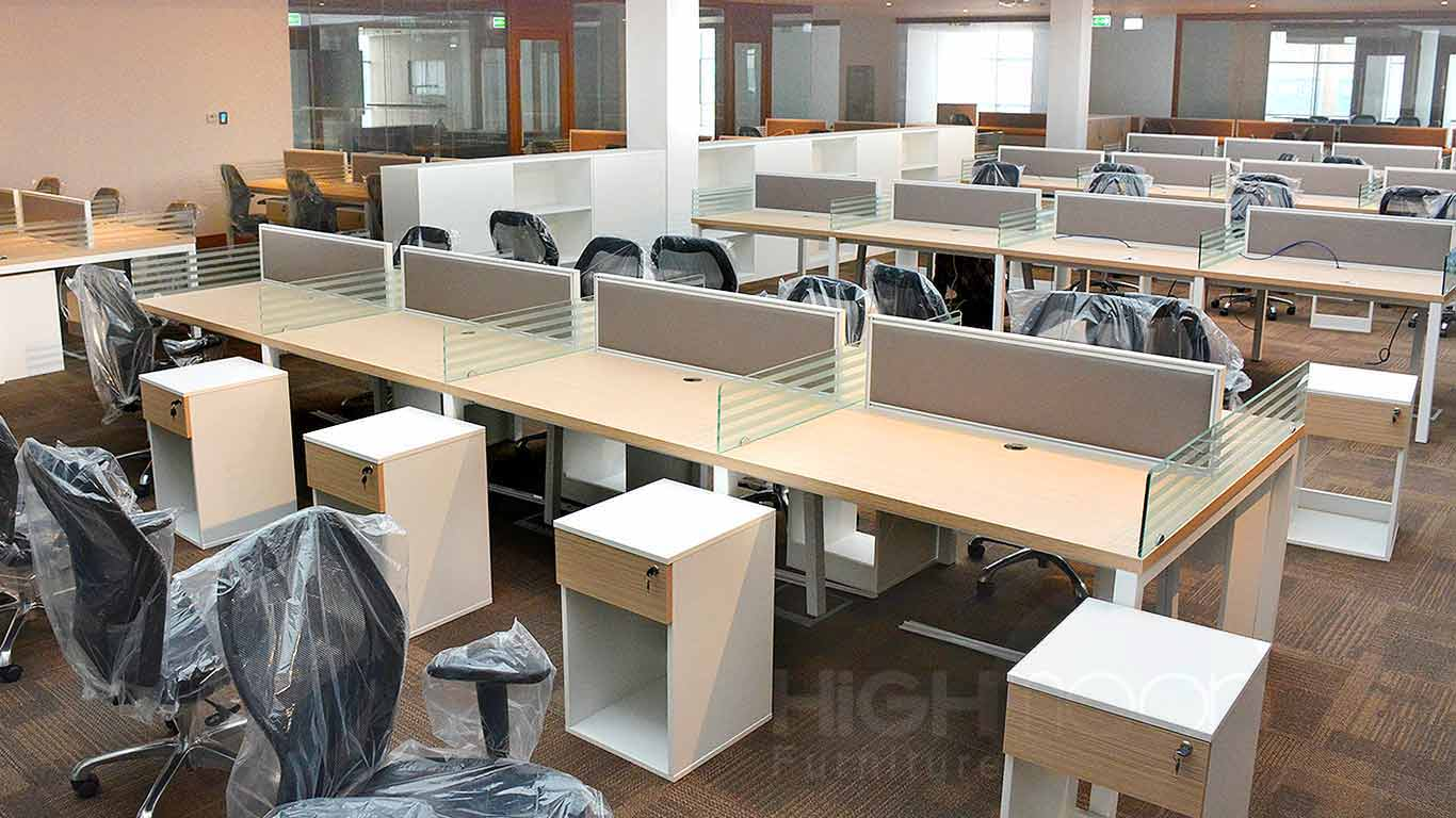 Al Jaber Group Office Furniture Project