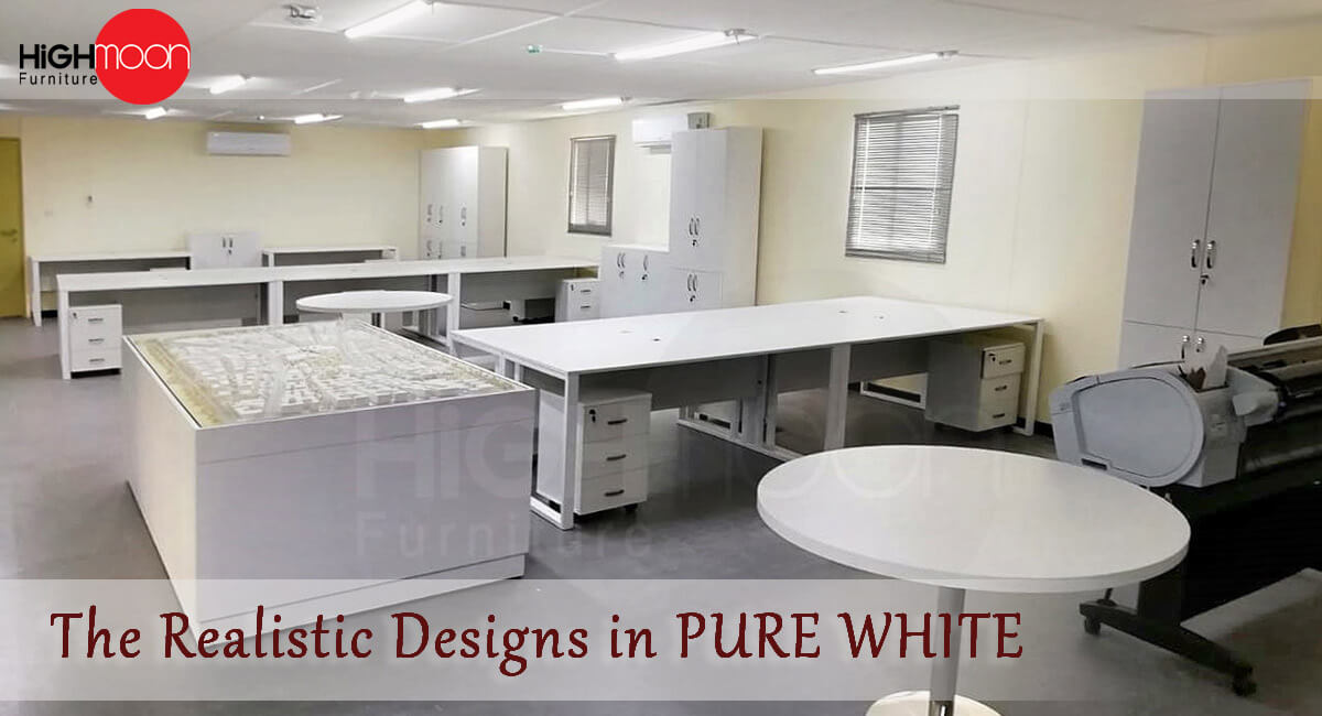 Arada White Office Furniture