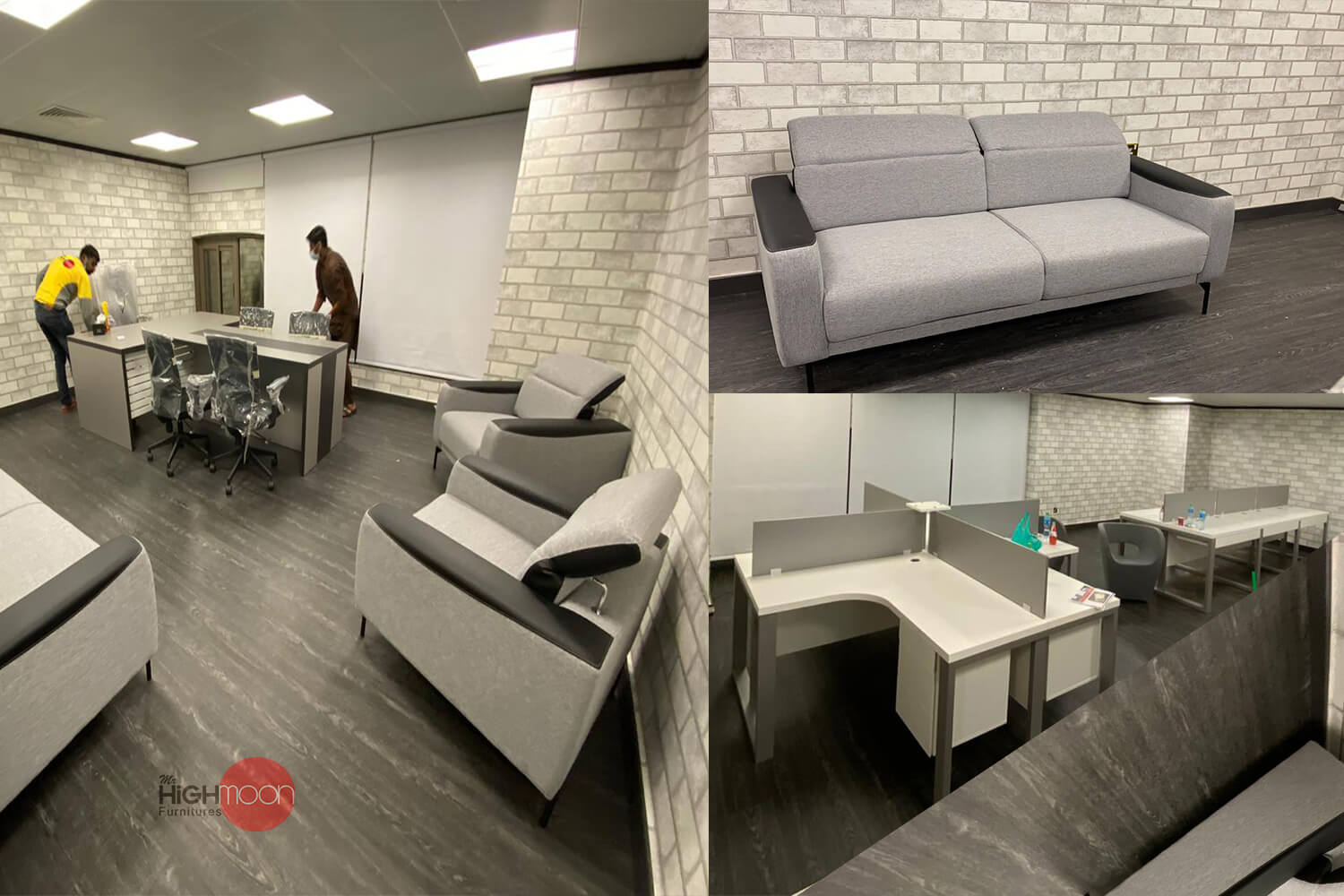 Brands and Beyond Office Furniture Project Abu Dhabi, UAE