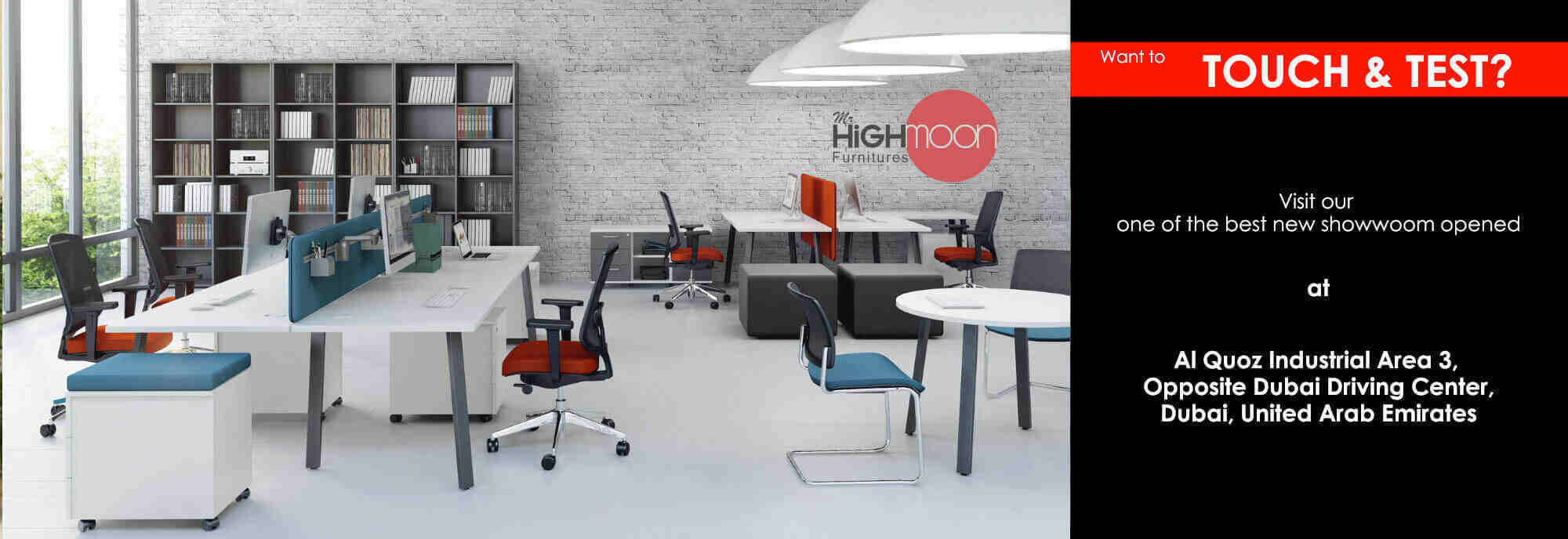 New Branch Opened at Al quoz 3 - Mr Highmoon Furniture Dubai