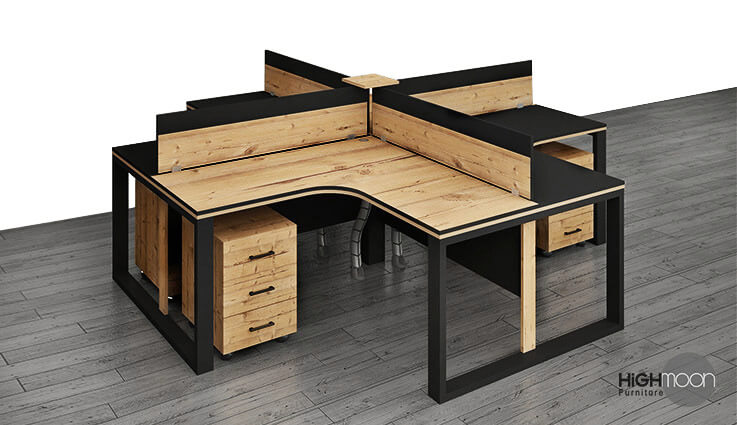 Luxury Workstation Furniture in Abu Dhabi