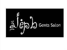 Alpha Gents Saloon logo